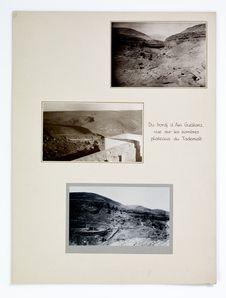 Du bordj d'Ain Guettara vue sur les sombres plateaux du Tademaït