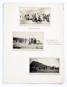 Tamanrasset. Sur les tombes du Général Laperrine et du Père de Foucauld