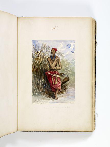 Album de dessins de voyages au Gabon
