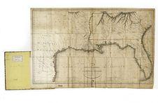 Carte des deux Florides et de la Louisiane inférieure