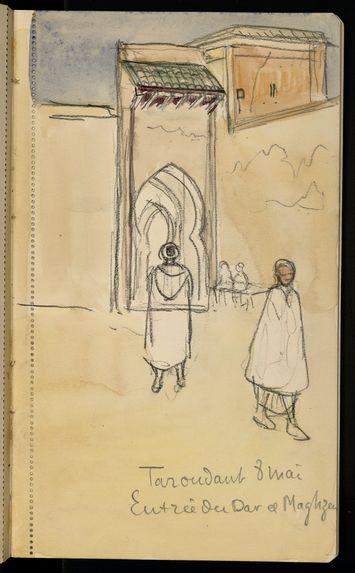 Sous - Tiznit avril 1917 - Taroudant mai 1917 et retour en France