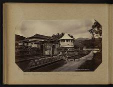 Kandy - Pagode bouddhique - Dalada Maligawa