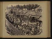 Procession dans le sud des Indes