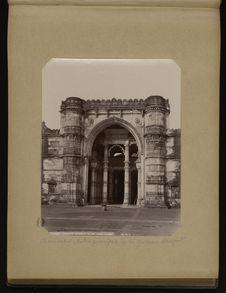 Ahmedabad, entrée principale de la Jumma Musjid