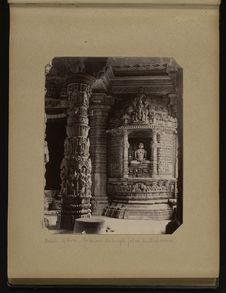 Mont-Abou, intérieur du temple jaïne de Delwara