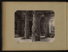 Mont Abou, temple de Dilwara, détails piliers