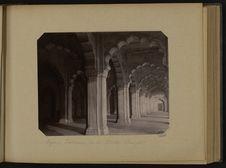 Agra - Intérieur de la Motee Musjid