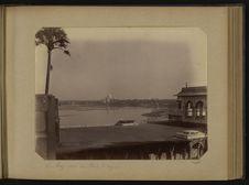 Le Taj vu du Fort d'Agra