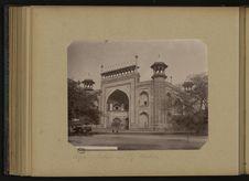 Agra - Entrée au Taj Mahal