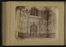 Le Taj - Détail galerie extérieure