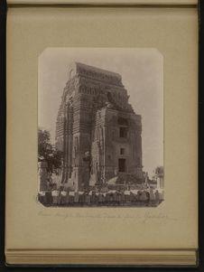 Vieux temple Bouddhiste dans le fort de Gawlior