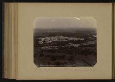 Gawlior, vue panoramique du Palais du Maharajah prise du fort