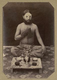 Fakir en prière