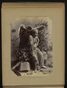 Femme coolie du Bhotan
