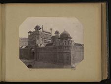 Delhi, fort et porte de Lahore