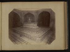 Lahore, intérieur du tombeau de Jehanghir