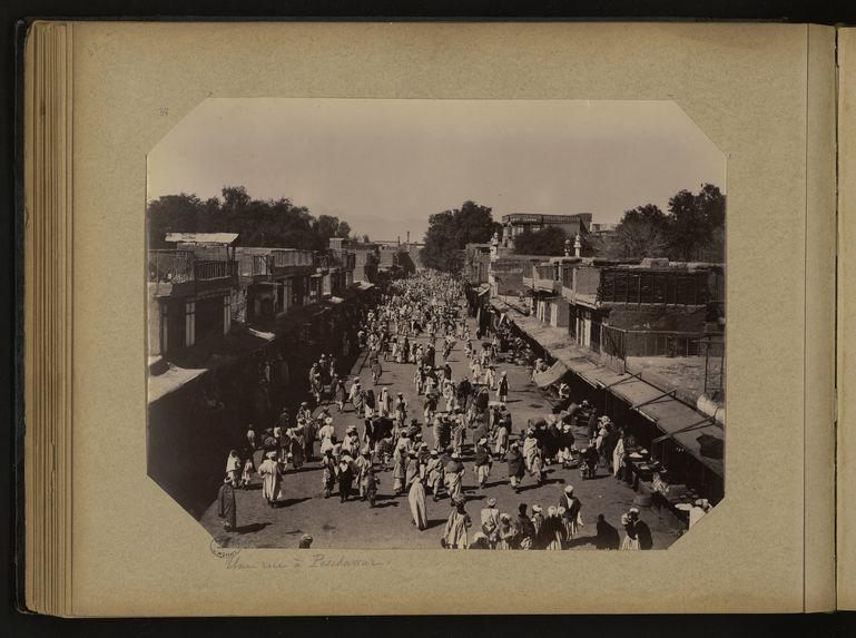 Une rue à Peschawar