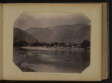 Baramula, vue prise en descendant le Jhelum