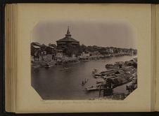 Srinagar, la fameuse mosquée de Shah Hamadan au milieu de la cité