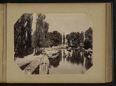 Srinagar, entrée du Dhal Canal prise de Gao Kadal