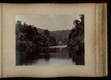 On the Mokau river, S.S. Manakau steaming down