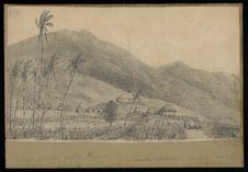 Village de natifs, port de Ballade, Nouvelle-Calédonie