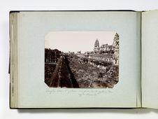 Angkor Wat - 2e galerie, vue prise de la galerie du rez de chaussée