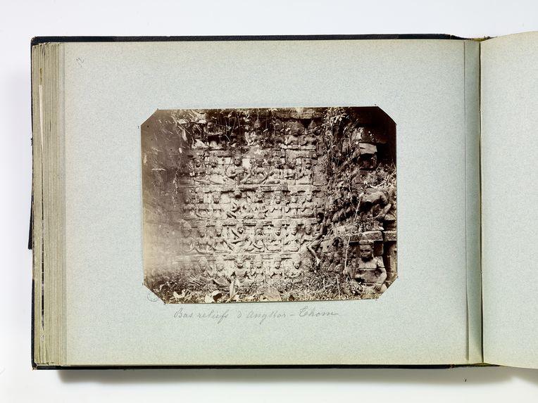 Bas reliefs d'AngKor-Thom