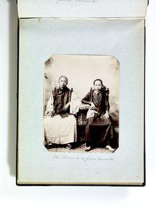 Un chinois et sa femme annamite