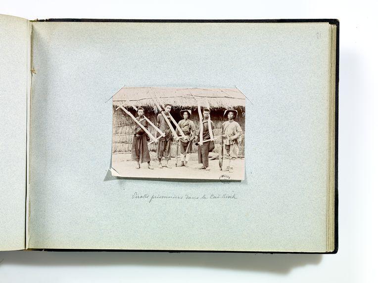 Pirates prisonniers dans le Caï Kinh