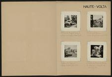 Haute-Volta [village et cascades]