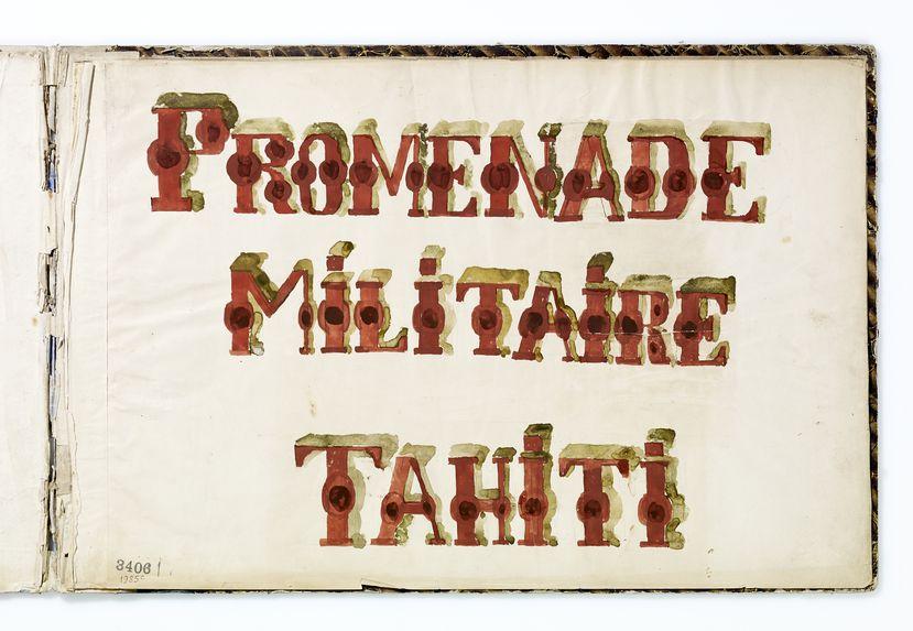 Promenade militaire Tahiti
