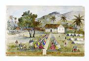Promenade militaire autour de Papeete, 1861. Tautira