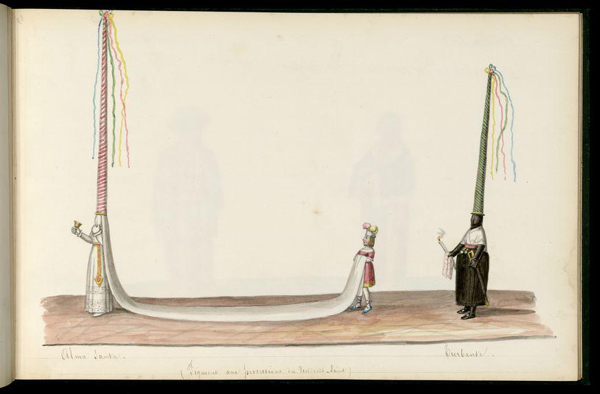 Alma Santa. Turbante (figurent aux processions du Vendredi-Saint)