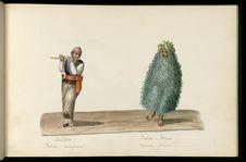 Flûtiste campagnard. Sauvage - indien