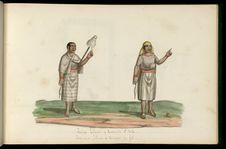 Indiennes filant et tordant du fil