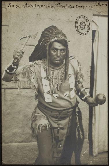 Sose Akwiranoron. Chef des Iroquois