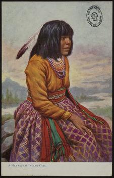 A Havasupai Indian Girl