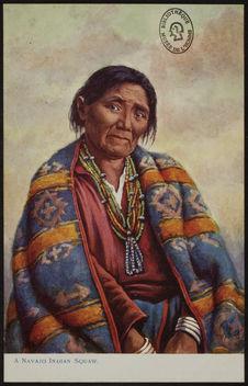 A Navajo Indian Squaw