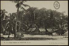 Un village indigène de Nossi-Bé