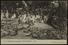 Le marché aux poteries de Tananarive