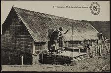 Habitation Moï dans le Haut Annam