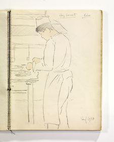 Cuisinier chez Vernet