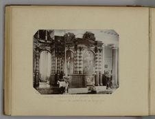 Kiachta - Intérieur de la grande église, colonnes de cristal taillé et bronze...