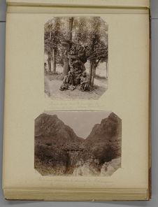 Pont aux Anes sur le chemin de Tchimgane, le sanatorium de Tchimkent à 90 km