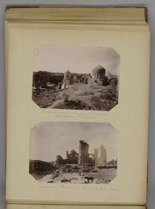 Samarcande - Ruines de la Mosquée de Bibi-Khané