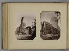 Samarcande - Mosquée sur le tombeau de Tamerlan