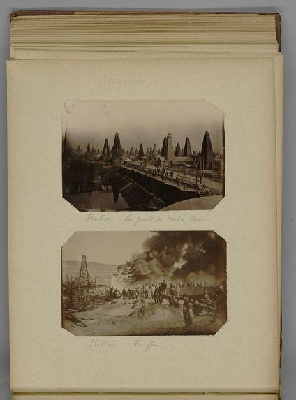 Bakou - Le feu