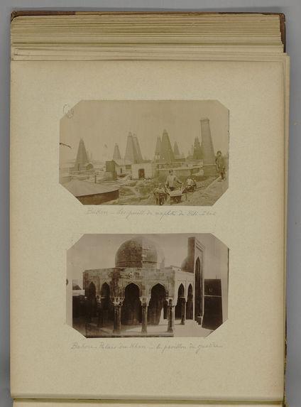 Bakou - Palais du Khan - le pavillon de justice