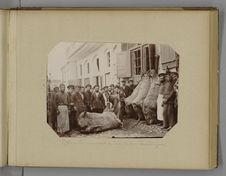 Tiflis - Les marchands de vins et leurs bourdougues